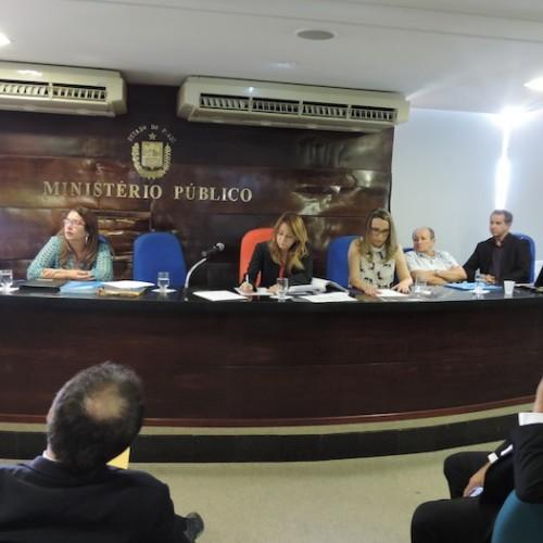 Promotores de Justiça debatem sobre a atual situação dos Matadouros Públicos do Piauí