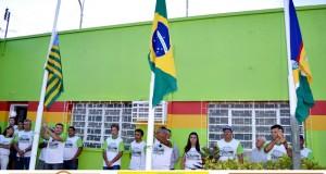 FOTOS | Aniversário de Padre Marcos – hasteamento das bandeiras e torneio de sinuca