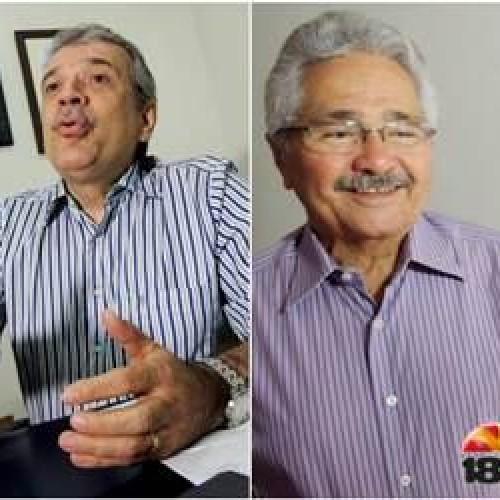 Insatisfeitos com o PTB, Elmano e JVC ainda definem o futuro político na sigla
