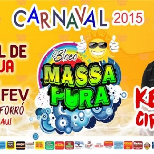 Bloco Massa Pura anuncia novidades para o Carnaval 2015; veja a programação