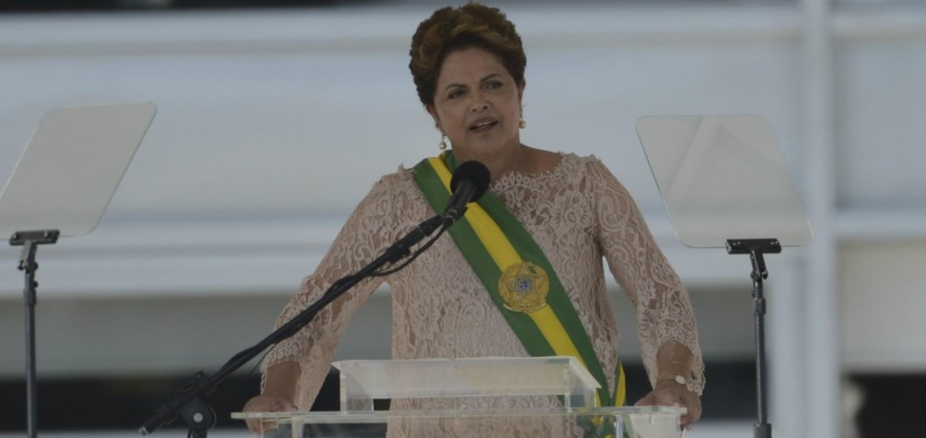 Dilma Rousseff toma posse de seu segundo mandato; fotos!
