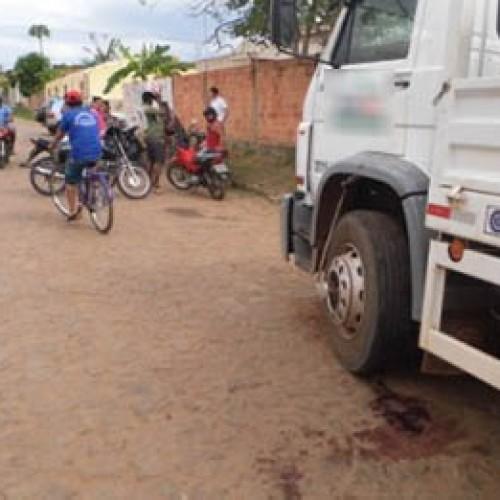 Motorista tem a cabeça esmagada pela própria carreta no Piauí