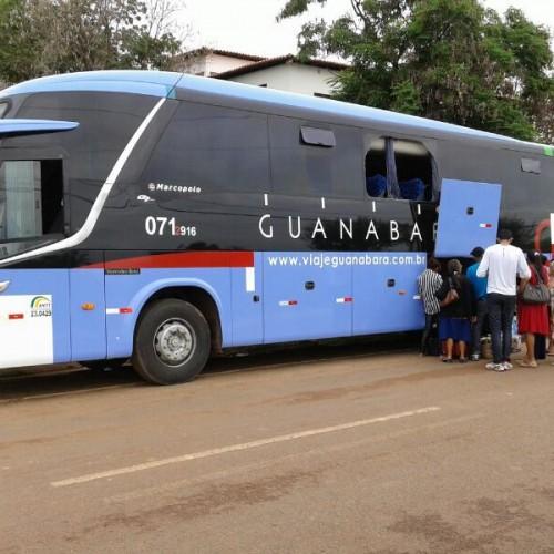 Assaltantes fazem arrastão em ônibus que fazia linha entre o Piauí e o Ceará