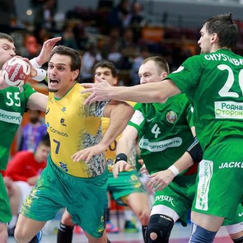 Brasil vence o 1º jogo no Mundial de handebol