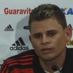 Piauiense inicia treino no Flamengo e diz que já pensa é na 'amarelinha'