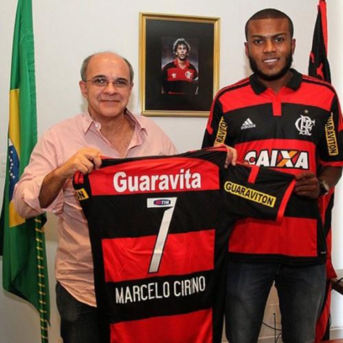 Marcelo Cirino é apresentado como reforço do Flamengo para 2015