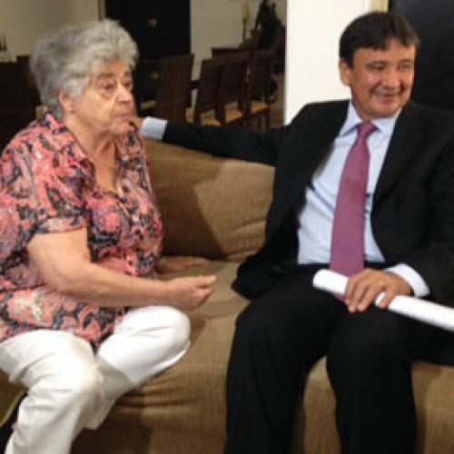 Em reunião com o governador, Niède Guidon  pede conclusão do aeroporto e ajuda para Serra da Capivara