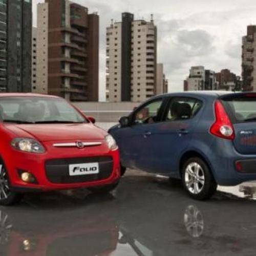 Palio é o carro mais vendido do Brasil em 2014 e Fiat é líder pelo 13º ano