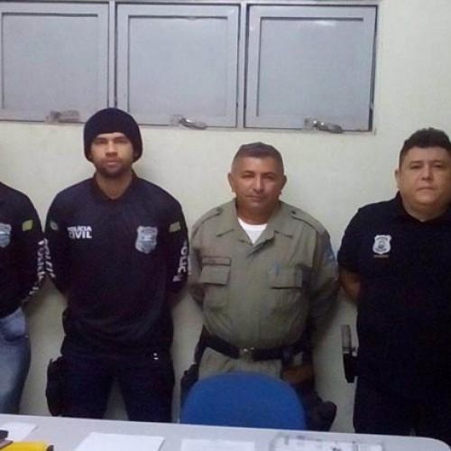 Polícia prende três suspeitos de homicídio durante operação no PI
