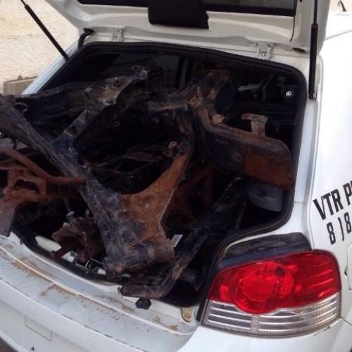 Polícia encontra 'cemitério' de motos em povoado de Monsenhor Hipólito