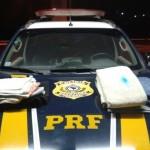 PRF prende dupla boliviana com dois quilos de cocaína diluída na roupa no Piauí