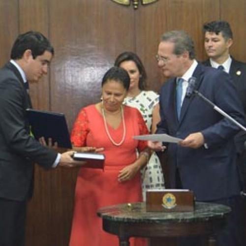Regina Sousa é empossada 1ª senadora do Piauí