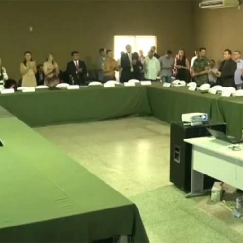 Secretária nacional de segurança recebe demandas em reunião na Acadepol