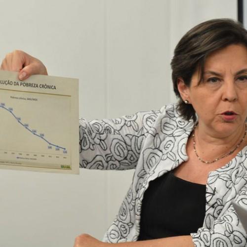 Ministra defende que Bolsa Família não defina prazo para excluir beneficiários