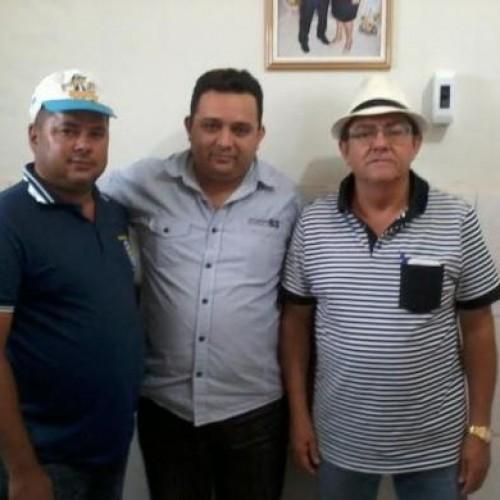 Diretor estadual da ADAPI  Toninho é recebido pelo prefeito de Marcolândia