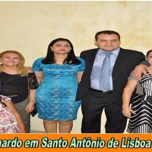 Vice assume prefeitura de Santo Antônio de Lisboa