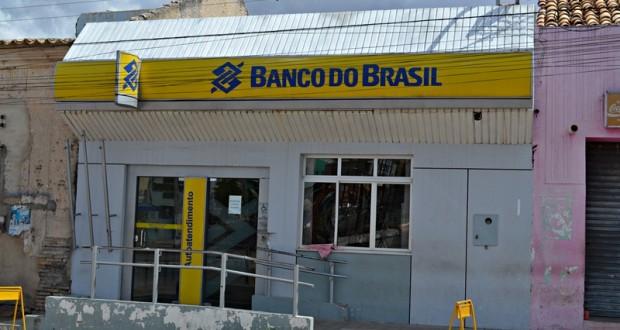 Bandidos arrombam Banco do Brasil de Jaicós durante a madrugada