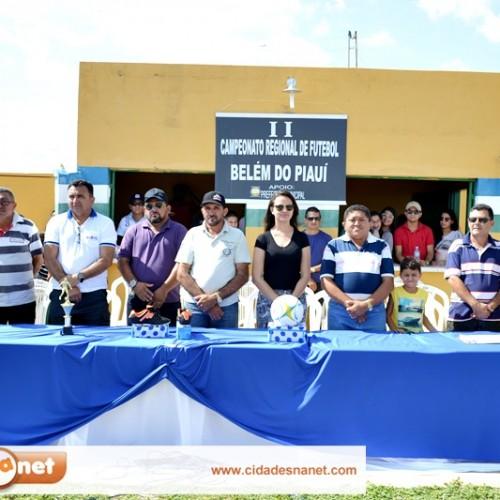 Empates marcam a abertura do Campeonato Regional de Belém do Piauí