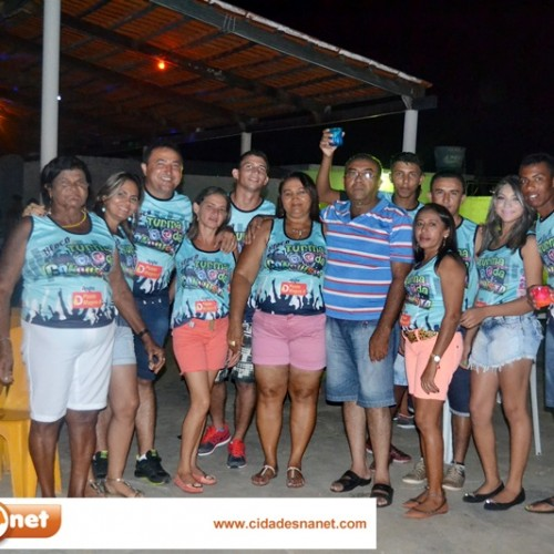 CARNAVAL 2015 | Festa do Bloco Turma da Conquista, em Cajueiro, Patos do PI