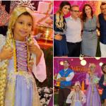 Frank Aguiar comemora aniversário da filha com autoridades presentes