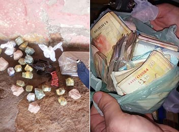 Polícia apreende R$ 7 mil e prende acusado de tráfico no Piauí