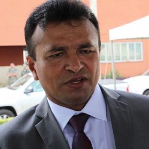 Durante a posse, Fábio Abreu garante mais segurança com a Força Nacional