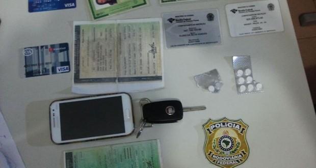 PRF prende acusados de furto de veículos e falsificação de documentos em Picos