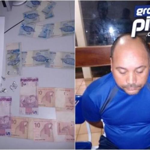 Traficante é preso com 16 pedras de crack em Picos
