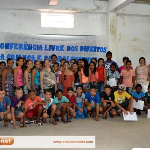 Conferência  Livre discute direitos da criança e do adolescente em Massapê