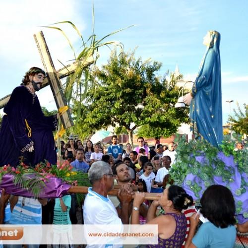 Procissão do Encontro reúne fiéis em Jaicós; fotos!