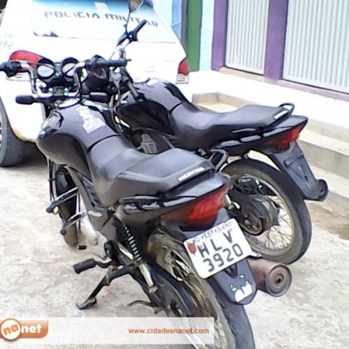 Moto é roubada em Jaicós e recuperada pela polícia em Francisco Santos; dois homens foram presos