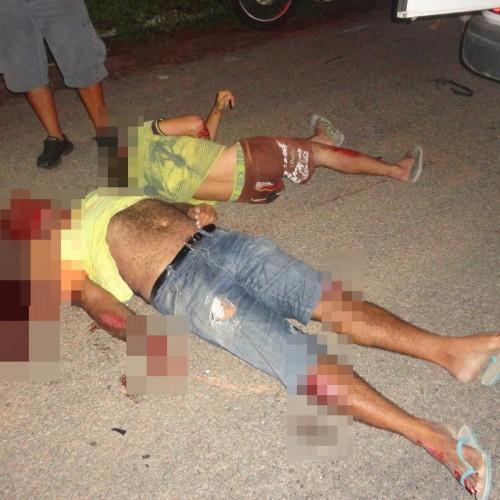 Motoqueiro morre ao cair em cratera na rodovia que interliga Francisco Macedo e Padre Marcos