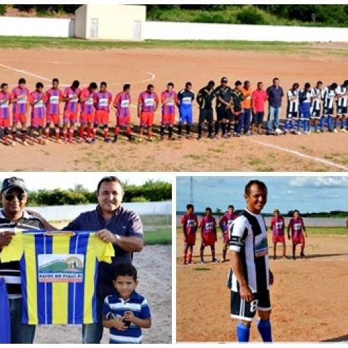 Prefeito entrega equipes e abre o Campeonato Municipal de Patos do Piauí