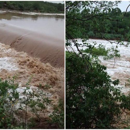 Cinco barragens do Piauí já sangram com fortes chuvas, aponta Dnocs