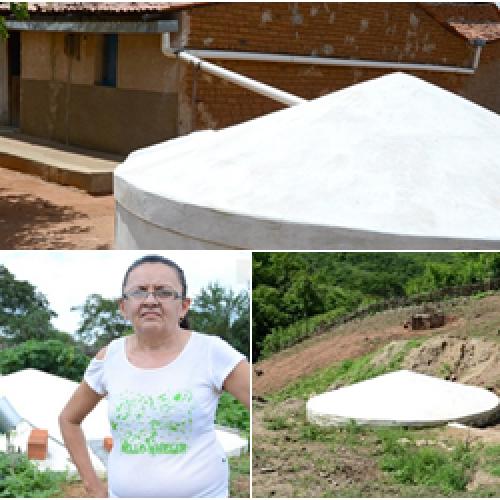 UOL | Cisterna faz família de Padre Marcos evitar andar até 4 km para ter água