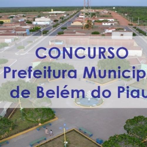 Concurso da Prefeitura de Belém do Piauí tem novo cronograma. Veja!