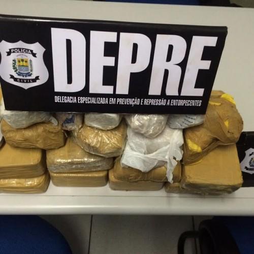 Polícia apreende cerda de 12 kg de cocaína e prende três pessoas