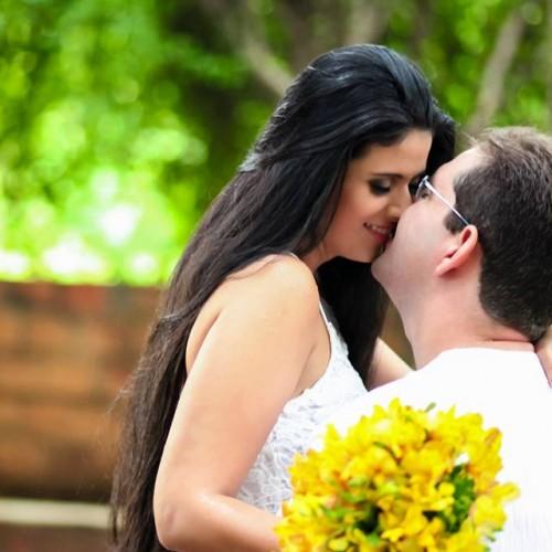 GENTE EM EVIDÊNCIA | Beleza e amor no ensaio dos noivos Larissa e Mávio