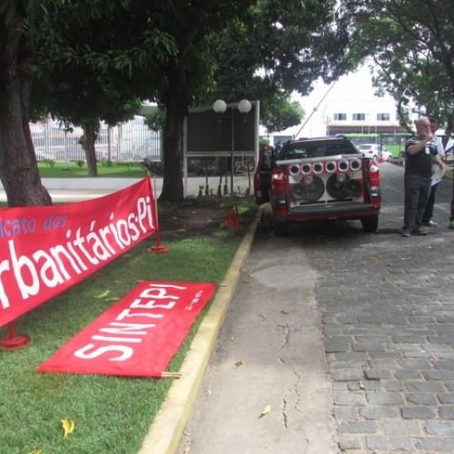 Trabalhadores da Eletrobras Piauí e Chesf fazem paralisação de 24h