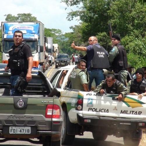 Polícia cerca os cinco suspeitos de dinamitar Banco do Brasil de Pio IX