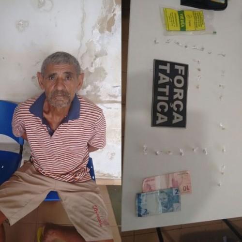 PICOS | Ex-presidiário é preso com 25 pedras de crack