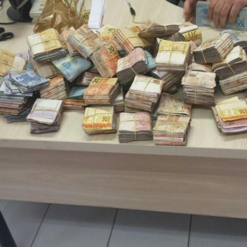 Homem suspeito de assalto a banco é detido com R$ 100 mil no Piauí