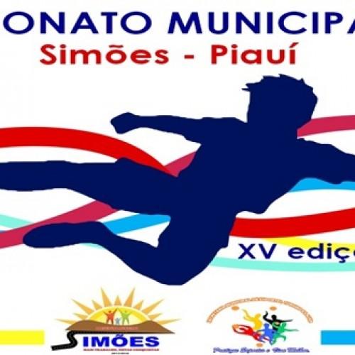 Prefeitura de Simões divulga regulamento e tabela do XV Campeonato Municipal