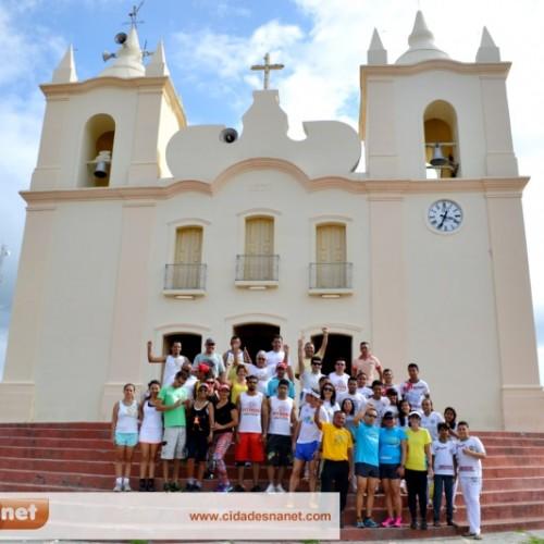 Jaicós é a terceira cidade do Piauí a receber o projeto 'Esporte e Arte Brasil'; veja fotos