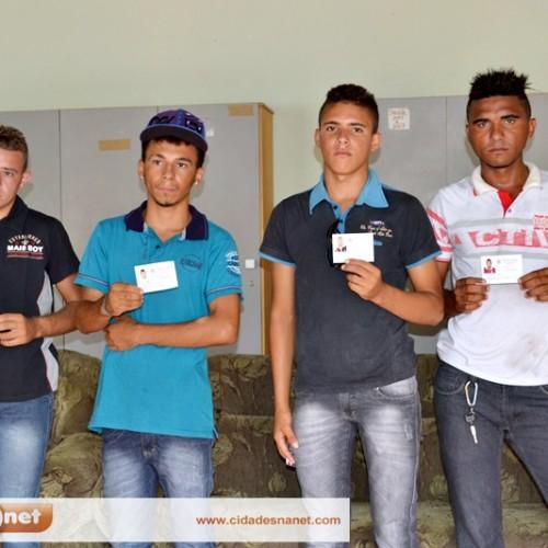 Junta de Serviço Militar entrega CDIs, em Massapê