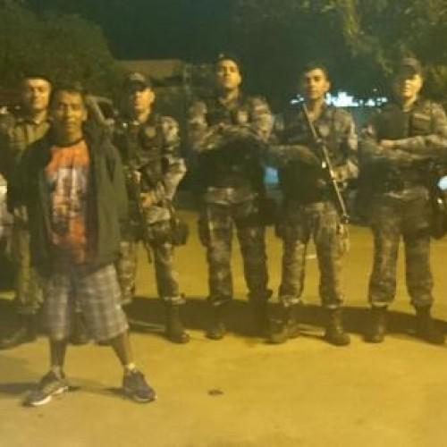 Foragido do Rio de Janeiro é preso durante abordagem a ônibus em Paulistana