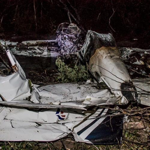 Queda de avião com cocaína no PI desbarata maior esquema de tráfico já descoberto no Nordeste