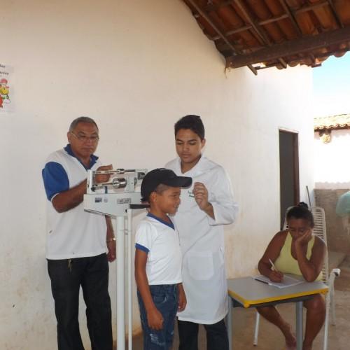 Campo Grande do Piauí realiza Semana Saúde na Escola