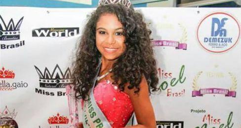 Adolescente de 13 anos de Valença do Piauí vence concurso nacional de beleza no Paraná