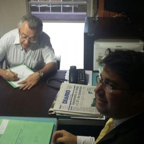 Kleber Eulálio faz inscrição para o TCE e disputa já conta com 21 inscritos; lista